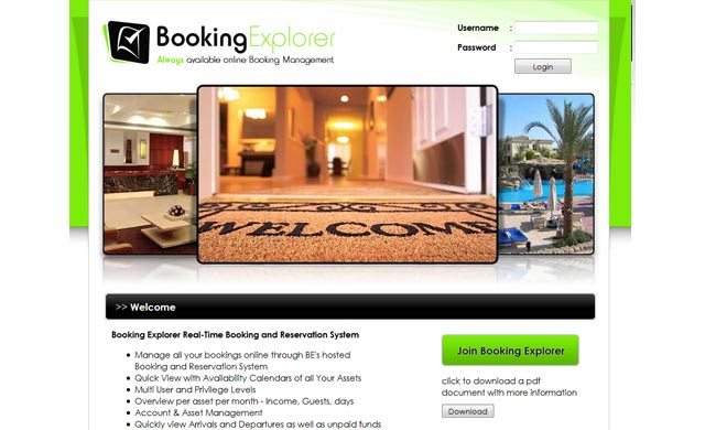 Booking Explorer
