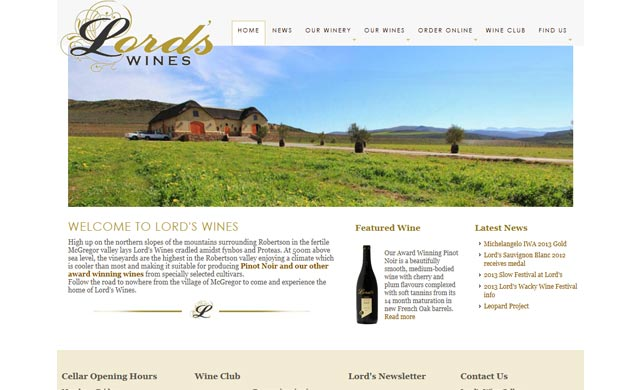 Lords Winery